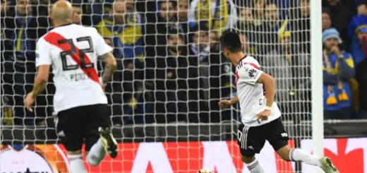Un hincha de River le envió una duda gramatical a la RAE por el gol del Pity Martínez: mirá la respuesta