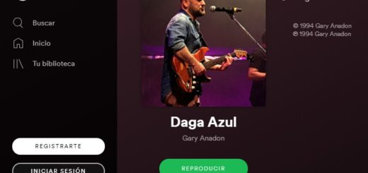 "Gary Anadón se lanzó a las plataformas online y presentó ""Daga Azul"" en Spotify"