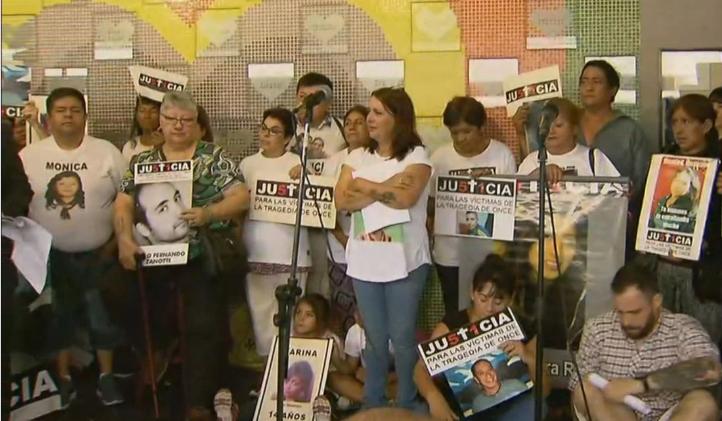 A siete años de la Tragedia de Once, las familias vuelven a exigir justicia