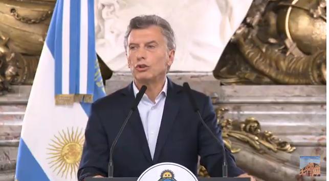 Macri anunció el aumento del mínimo no imponible sobre las cargas patronales de las Pymes