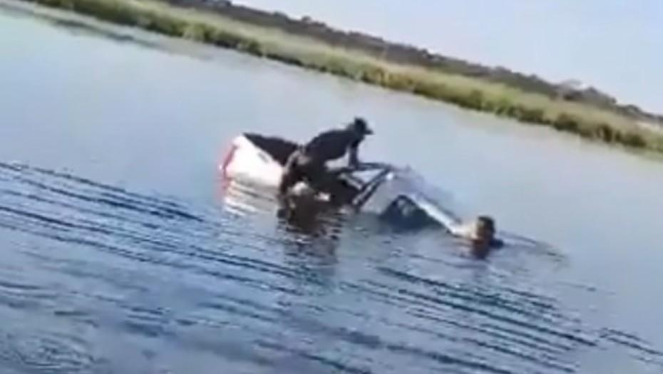 Chaco: un intendente chaqueño junto a su esposa vivieron un momento desesperante tras accidentarse