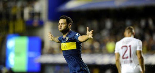 Superliga: Boca venció a Lanús y se sigue ilusionando con el tricampeonato