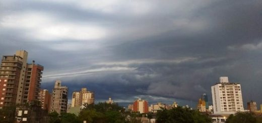 Misiones: anticipan un sábado de calor, tormentas y posible caída de granizo