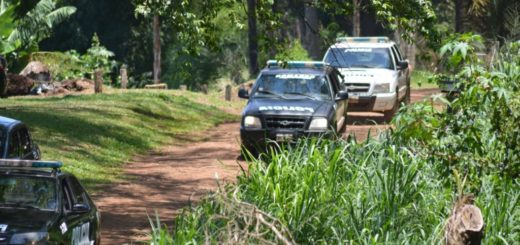 Gran operativo policial en el Alto Uruguay