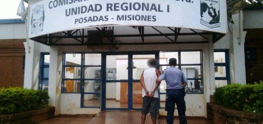 Detuvieron a un hombre sindicado en un robo en la zona de Costanera oeste de Posadas