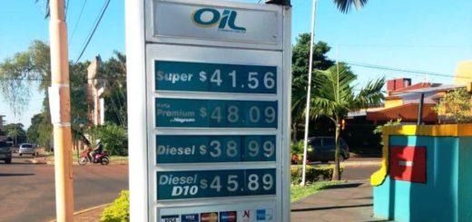 Combustibles: las estaciones de servicio de AXION y OIL actualizan hoy su grilla de precios en Posadas