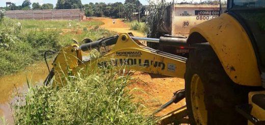 El municipio posadeño realiza obras de saneamiento en el barrio Jardín