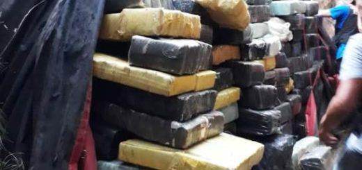 Prefectura secuestró más de 9.000 kilos de marihuana en Ituzaingó