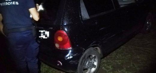 La Policía recuperó en Garupá un auto que fue robado en Posadas
