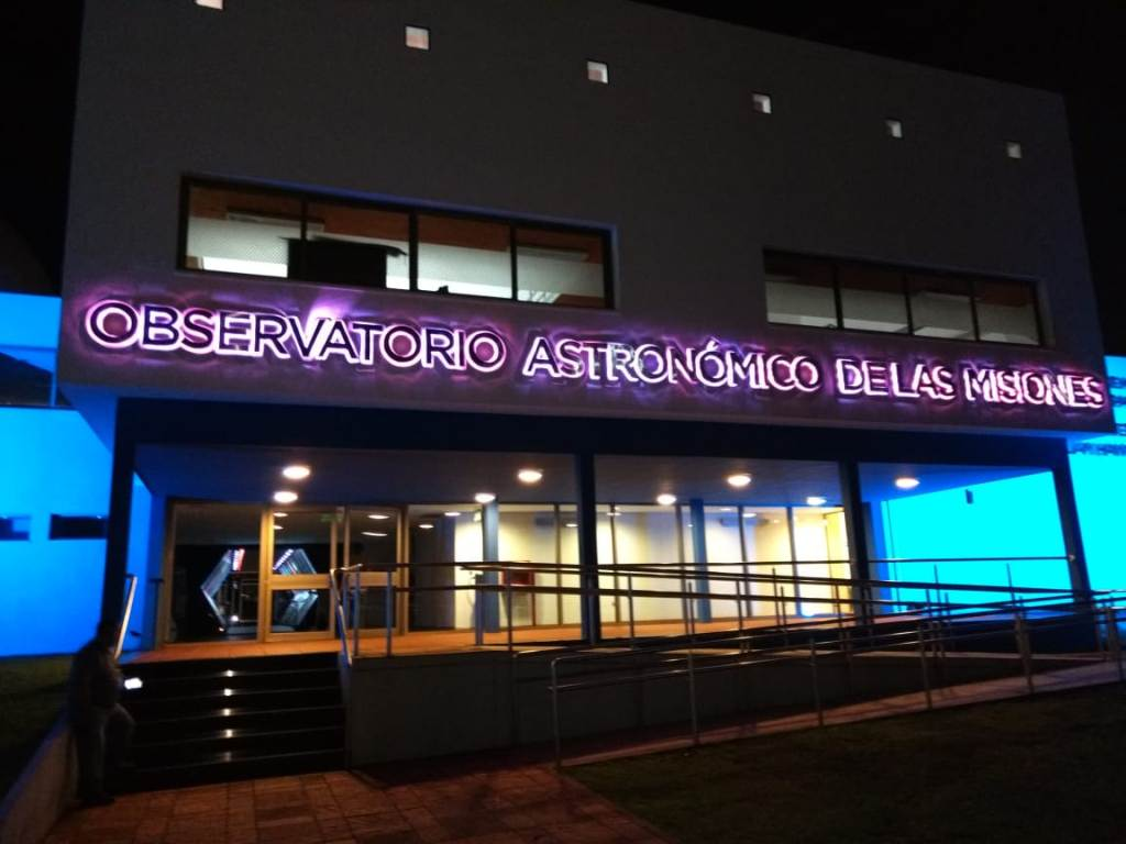 Claudia Gauto destacó la puesta en marcha del observatorio Astronómico de las Misiones en Posadas