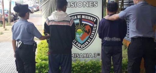 Recuperaron elementos robados a un local comercial y detuvieron a dos hombres en Posadas