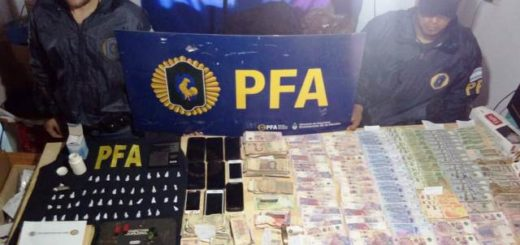 Lucha contra el narcotrafico en Eldorado: la banda detenida por la PFA se dedicaba a la venta de pedra, crack, cocaína y marihuana