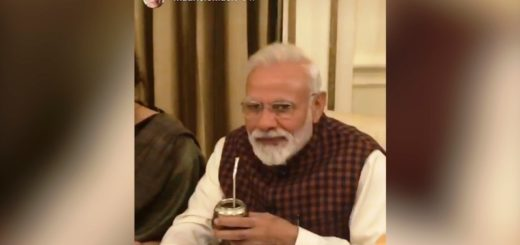 Narendra Modi, primer ministro de India, probó unos mates