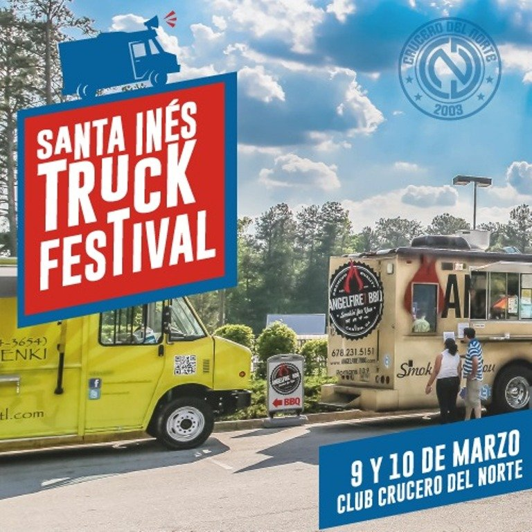 Santa Inés Truck Festival: el próximo partido de Crucero del Norte será en el marco de un evento gastronómico