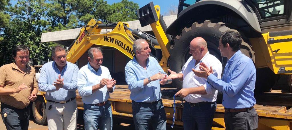 El municipio de Panambí incorporó maquinaria vial