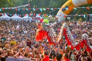 Más de 100 mil personas celebraron el Año Nuevo Chino en Buenos Aires