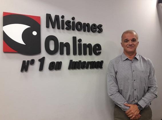 """Carlos Arce, presidente del IPS, """"tenemos una consulta  de médico especialista que es la más alta del NEA"""""""