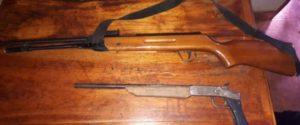 Secuestraron armas y municiones tras un allanamiento en Oberá