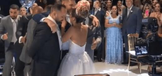 Emocionante: un hombre paralítico se puso de pie para bailar con su novia en su casamiento