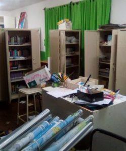 Robo y vandalismo en escuelas de Garupá y Santa Ana