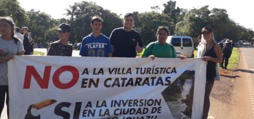"""Vecinos de Iguazú no se conforman con la suspensión del proyecto """"Oportunidades Naturales"""" y no descartan volver a cortar el ingreso a Cataratas mañana"""