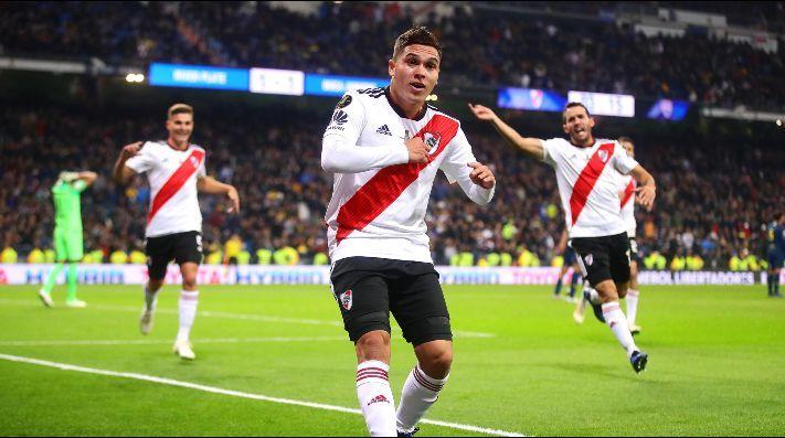 Juanfer Quintero renovó su contrato con River hasta 2022