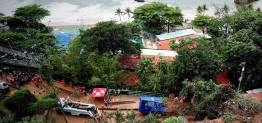 Río de Janeiro: por las lluvias torrenciales hay al menos 6 muertos