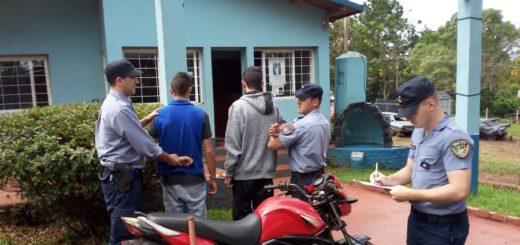 Salto Encantado: atraparon a hermanos que golpearon y le robaron la moto a un joven