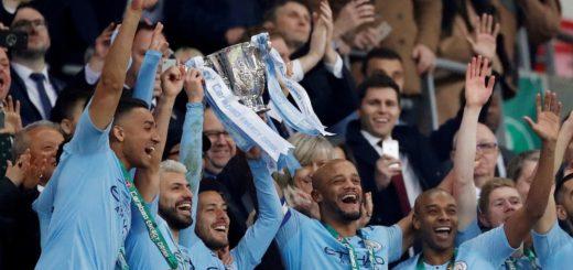 El Manchester City, con Agüero y Otamendi, se coronó campeón de la Copa de la Liga