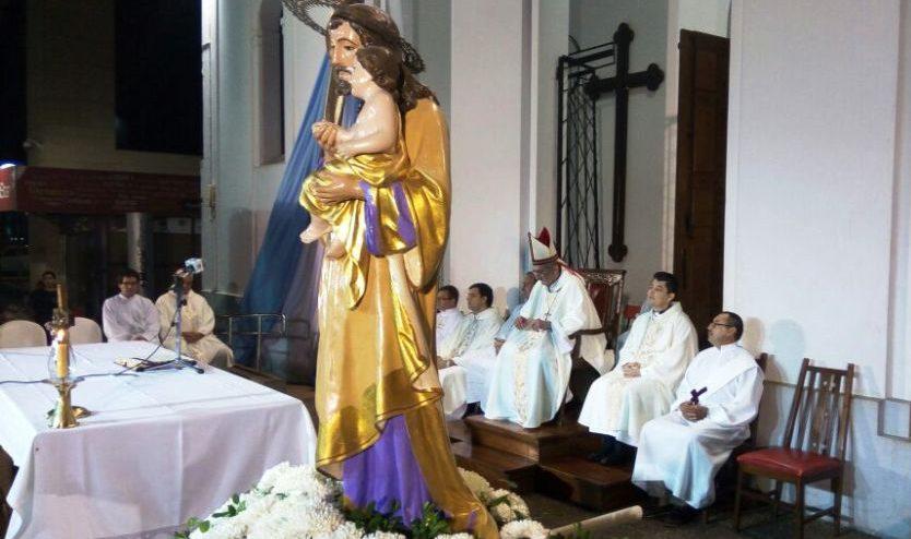 Hoy comienzan las actividades en el marco de las fiestas patronales en honor a San José patrono de la Iglesia Catedral y de Posadas