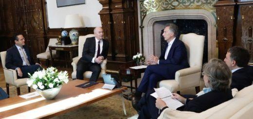 Petróleo: autoridades de Shell se reunieron con Mauricio Macri para confirmar inversiones en Vaca Muerta