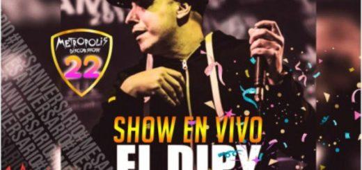 Esta noche el show en vivo de El Dipy en Metrópolis, adquirí las entradas en Compras Misiones