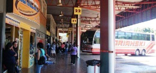 En la terminal de Posadas se sintió la merma de traslados a las playas brasileras durante las vacaciones