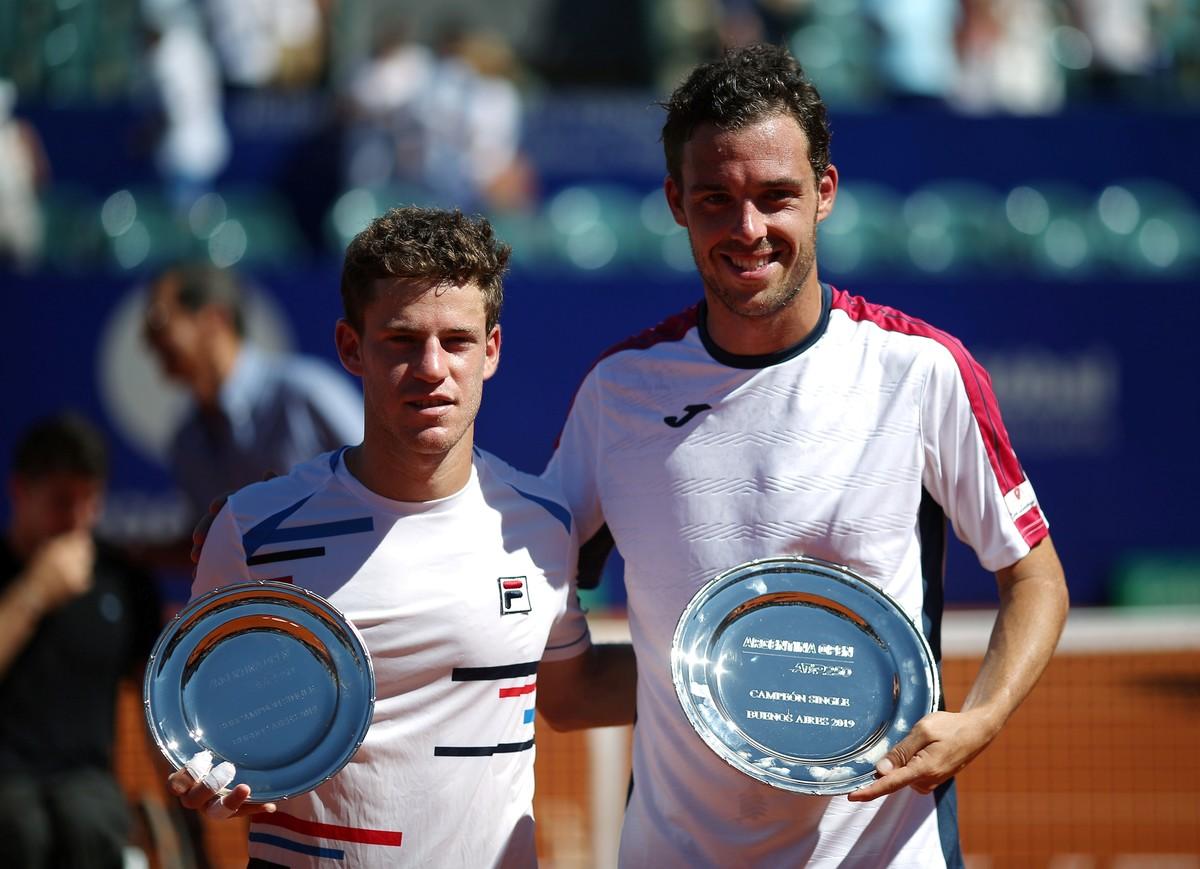 Diego Schwartzman cayó ante Marco Cecchinato en la final del Argentina Open