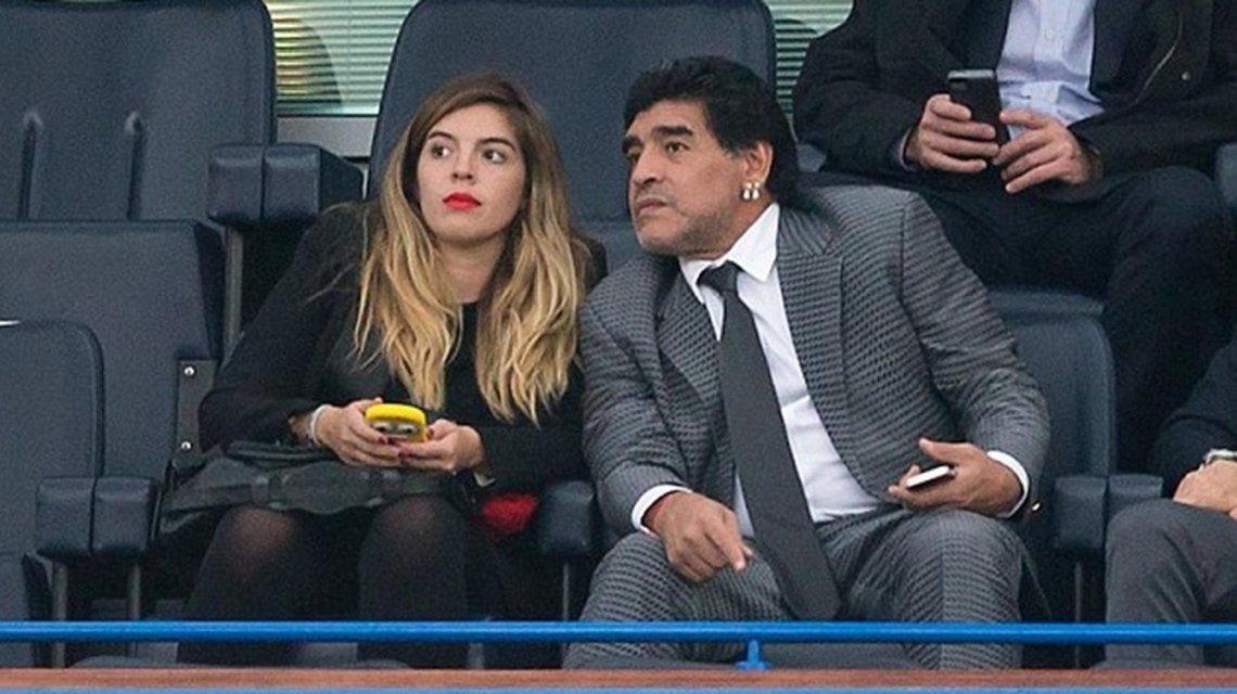 Dalma Maradona fue mamá: nació Roma la primera nieta del Diego