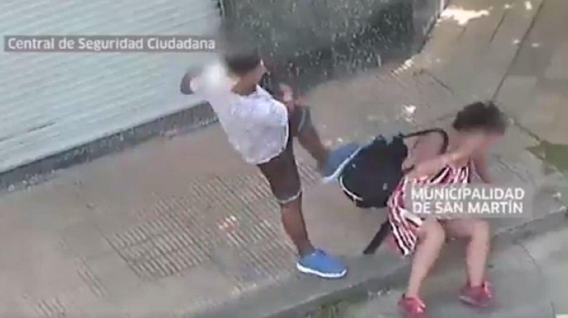 La dramática historia de la mujer que fue salvada por las cámaras de seguridad tras ser brutalmente golpeada