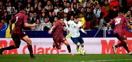 Con la vuelta de Messi, Argentina recibió un duro golpe ante Venezuela