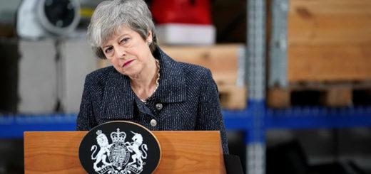 El Parlamento británico rechazó por segunda vez el acuerdo de Brexit de Theresa May