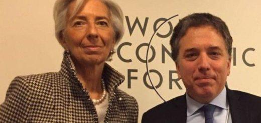 Nicolás Dujovne tiene hoy una nueva cumbre con Christine Lagarde