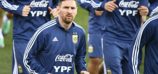 Con Messi, Argentina se entrenó por primera vez en Madrid