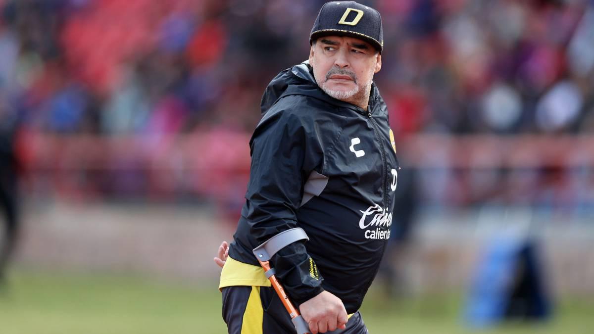 Diego Maradona: «Gallardo tiene todo mi respeto, pero no creo que sea técnico de Selección»