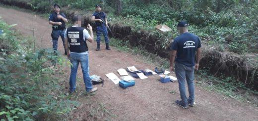 La Policía incautó más de un kilo de marihuana en Alberdi y busca intensamente a un dealer