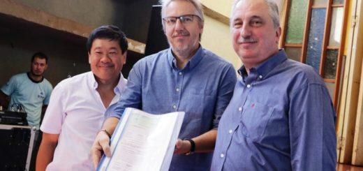 Passalacqua entregó certificados de Formación Pedagógica a docentes de oficios en Alem