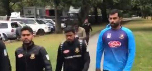 Nueva Zelanda: Miembros del equipo de cricket de Bangladesh escaparon ilesos del tiroteo en una mezquita