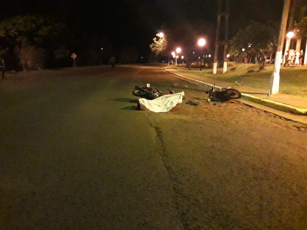 Choque entre dos motos deja un muerto en 9 de Julio