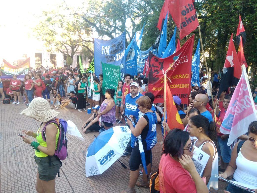 Día de la Memoria: en Posadas también hubo marcha para recordar a las víctimas de la dictadura