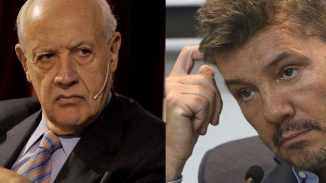 Marcelo Tinelli y Roberto Lavagna almorzaron juntos en la casa del conductor