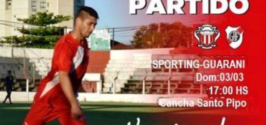 En busca de su cuarta victoria consecutiva, Guaraní Antonio Franco visita esta tarde a Sporting de Santo Pipó