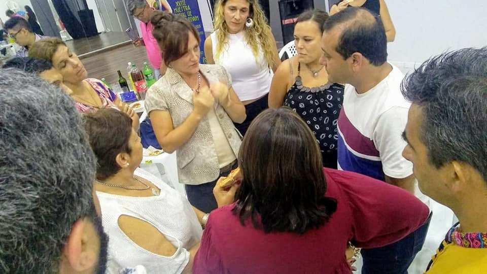 El Vicegobernador de Misiones Oscar Herrera Ahuad se reunió con referentes del Movimiento de la Ley de Danza de la Provincia