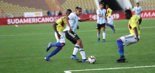 Argentina logró su primer triunfo en el Sudamericano Sub 17